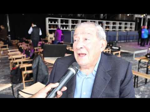 'CRAWFORD-KHAN DOES 1 MILLION BUYS' - BOB ARUM / TALKS PACQUIAO-BRONER, VALDEZ-WARRINGTON, HEARN