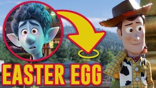 Onward Pixar Easter Egg REVEALED in Toy Story 4!