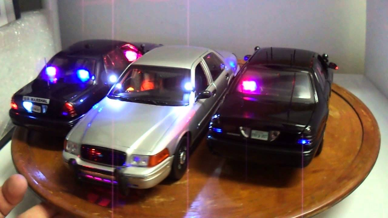 WWW.PO-LIGHT.COM UNMARKED police UNITS 1/18 SCALE TOY CARS ...