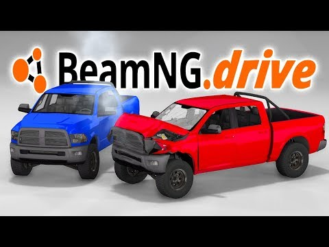 DODGE RAM 1500 TRUCK CRASH TESTING! - BeamNG.drive Truck Mod