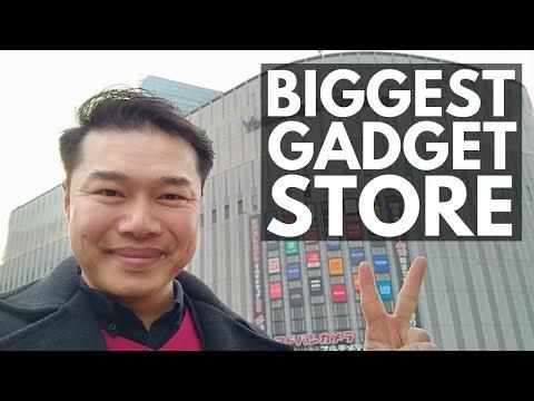 Yodobashi Camera Osaka Umeda Tour   Japan Vlog 40   Lin Nyunt