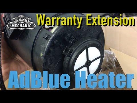 VW Adblue Heater Warranty Extension