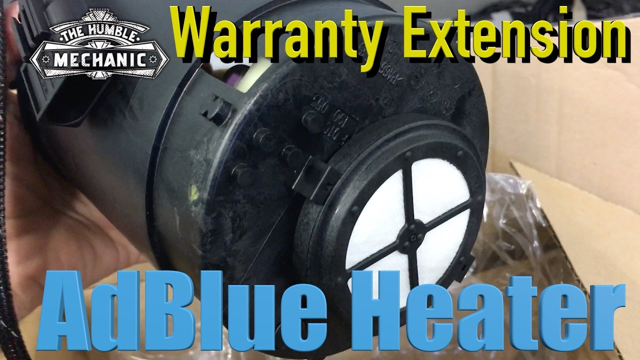 VW Adblue Heater Warranty Extension