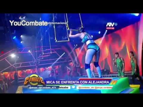 MICA GANA EN EL DEBUT DE TRAPECIOS EN COMBATE PERU - YouCombate