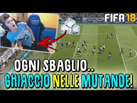 OGNI SBAGLIO..GHIACCIO NELLE MUTANDE!! *finito male* - Fifa 18