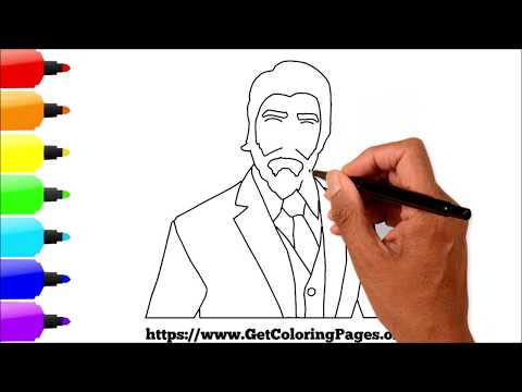 How to Draw Reaper Skin Fortnite   How to Draw Reaper Skin Fortnite Step by Step