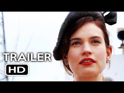 The Guernsey Literary and Potato Peel Pie Society Official Trailer #1 (2018) Lily James Movie HD
