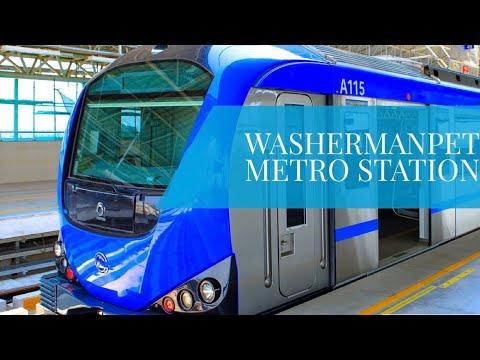 Washermanpet Metro Station