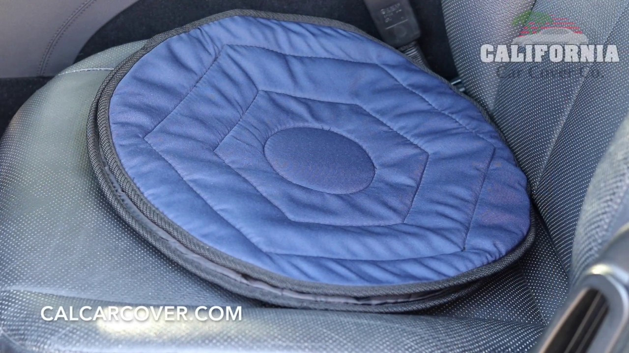 Stander Deluxe Auto Swivel Seat Cushion 3035 At California Car Cover