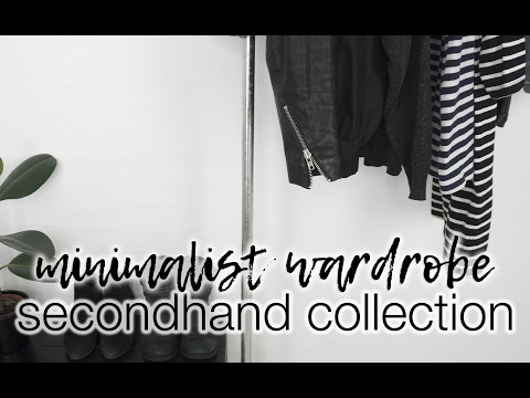 A wardrobe of secondhand products: no talk run-through and lookbook!