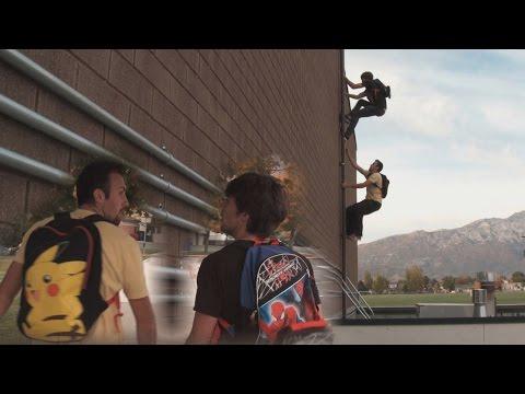 pikachu-vs-spider-man---running-late