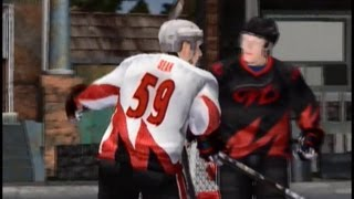 Shootout (Mini game) - NHL Hitz 2003 (Xbox)