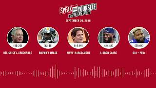 SPEAK FOR YOURSELF Audio Podcast (9.20.18) with Marcellus Wiley, Jason Whitlock | SPEAK FOR YOURSELF