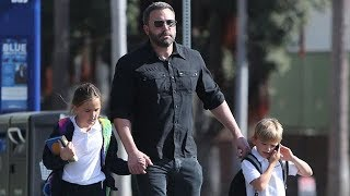 EXCLUSIVE - Ben Affleck Enjoying Daddy Duty After Breakup With Shauna Sexton