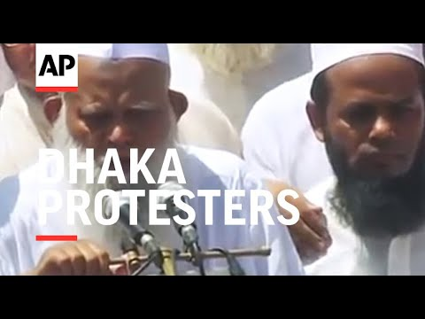 "Dhaka protesters call for Myanmar to ""free"" Rakhine state"