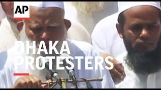 "Dhaka protesters call for Myanmar to ""free"" Rakhine state"