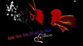 Kaise Tera Tuta Dil Jod Du Main || WhatsApp status lyrics Cartoon Version || Rk Music Cafe