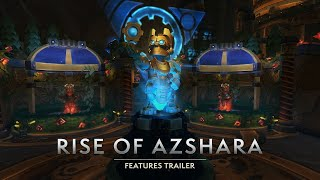 Rise of Azshara Features Trailer – Arriving June 25!