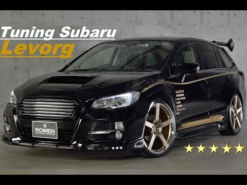 subaru levorg 300 ps tuning best hot car tuning cars youtube. Black Bedroom Furniture Sets. Home Design Ideas