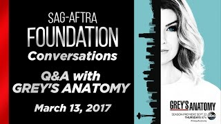 Conversations Q&A with GREY'S ANATOMY