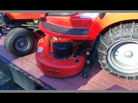 How To: Simplicity Tractor Mowing Deck Attachment (Broadmoor in this series)