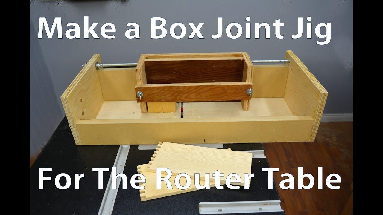 Rockler Box Joint Jig Setup