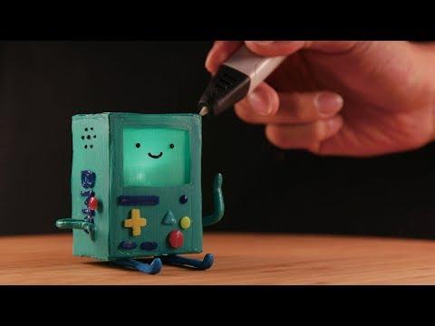 3D펜으로 만든 비모 | 3D pen Making BMO (Adventure time)