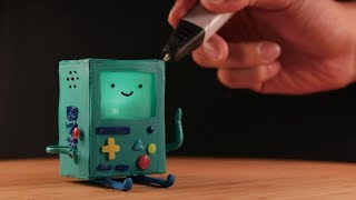 3D펜으로 만든 비모 | 3D pen Making BMO (Adventure time)