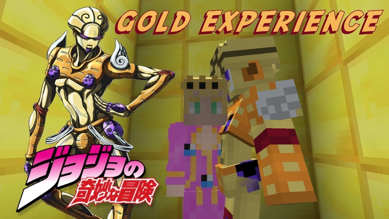 Minecraft Jojo Mod Stand Retexture Gold Experience V2 Youtube However, it can also be one of the most dangerous as it covers such a large area, which makes it very difficult to escape alive. minecraft jojo mod stand retexture gold experience v2