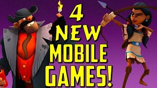 4 BEST new Mobile Games of the Week for Android & iOS | TL;DR Reviews #34