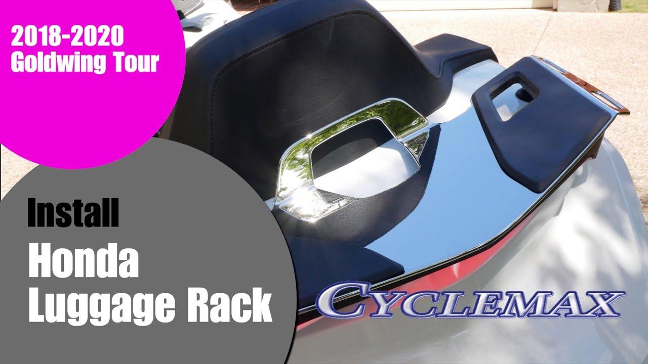 Installing Honda Luggage Rack on 2018+ Honda Goldwing Tour