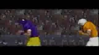 ABC Monday Night Football SNES game intro