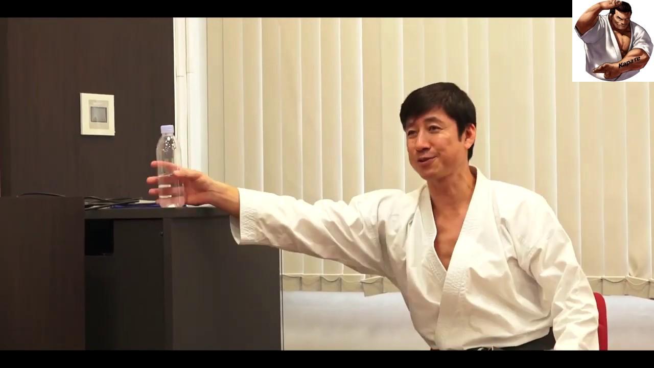 Тацуи Нака и бутылка с водой - YouTube