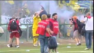 Salernitana - Hellas Verona 1-0 - Finale Playoff Lega Pro - Fischio finale /=\