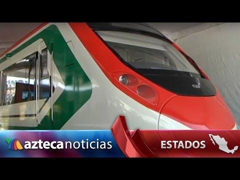 Presentan tren para ruta México-Toluca | Estados