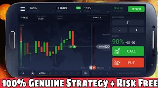 Iq Option 100% Winning Strategy & Risk Free | Earn Money from Binary In Hindi