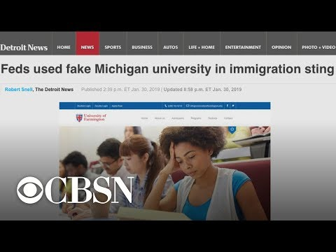 ICE arrests dozens of illegal immigrants after fake university sting Mp3