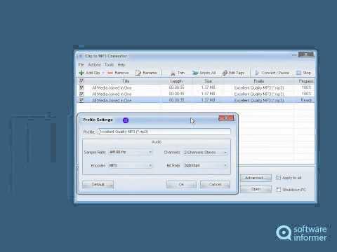 Clip To MP3 Converter Quick Demo