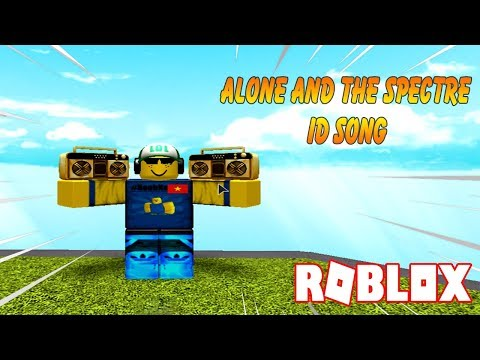 ROBLOX (alone and the spectre ) ID SONG