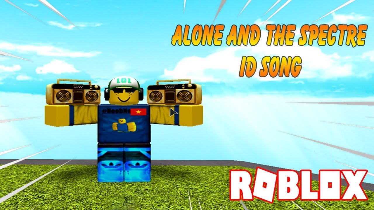 Roblox Alone And The Spectre Id Song Youtube
