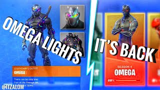 "*NEW* HOW TO GET ""MAX OMEGA LIGHTS"" ON FORTNITE SEASON 8! OMEGA LIGHTS CHALLENGE LEAKED!"