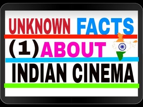 History of Indian cinema in Hindi + English (Part - 1)