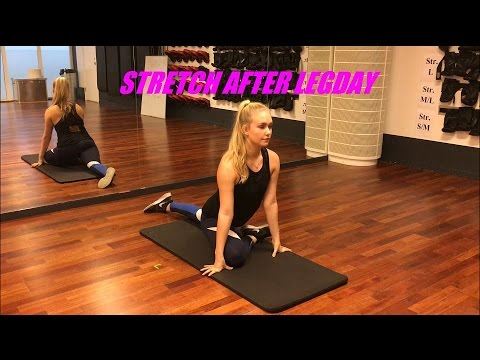How To: Stretch After Legday!