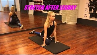 How To: Stretch After Legday !
