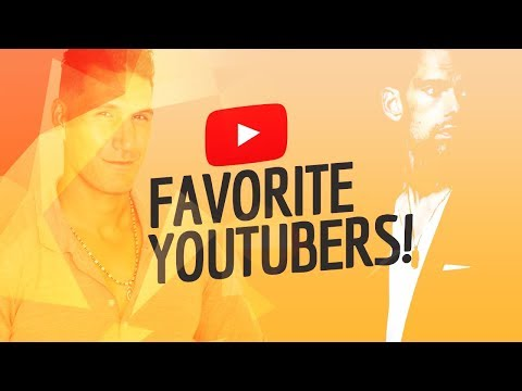 My Favorite YouTubers (Tom Bilyeu, Charisma On Command, Brandon Carter & More)