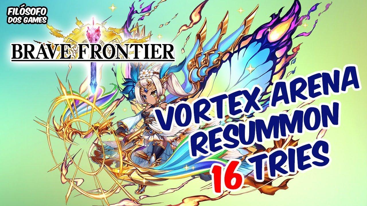 Brave Frontier - Vortex Arena Resummon featuring Fionna - 16 Rolls