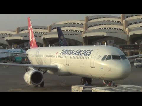 ✈ Turkish Airlines | A321-200 | Riyadh to Istanbul