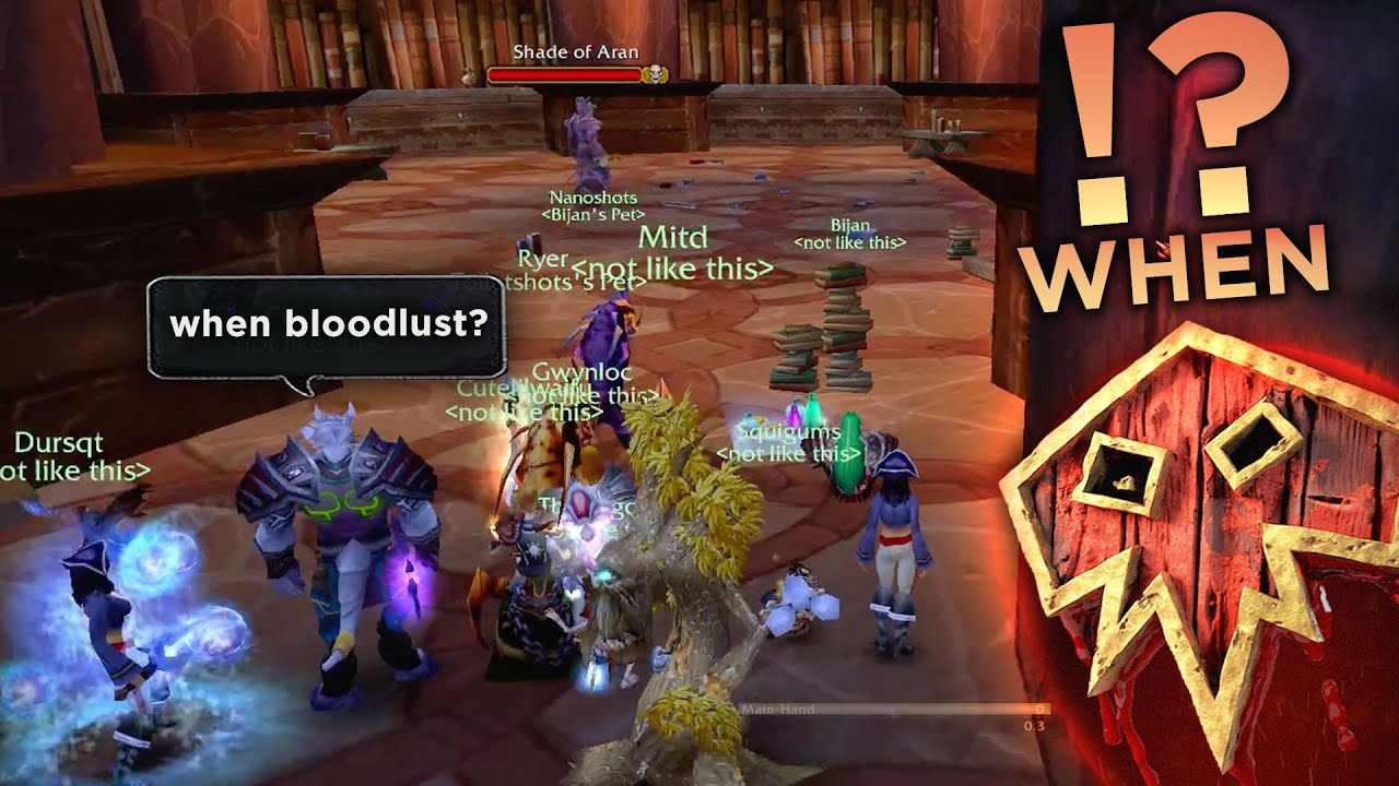 2 words to ANNOY YOUR RAID LEADER - WoW TBC: Funniest Moments (Ep.9)