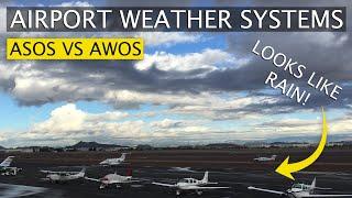 ATIS Vs ASOS Vs AWOS | AvGeek Brief | Weather Reporting Systems