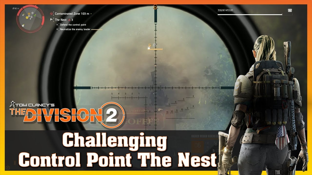 Challenging | Control Point | The Nest | True Sons | THE DIVISION 2